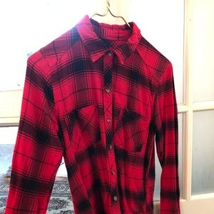Flannel Abercrombie and Fitch shirt